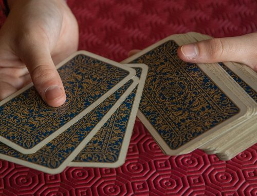 Did you play card games when you were a young one?